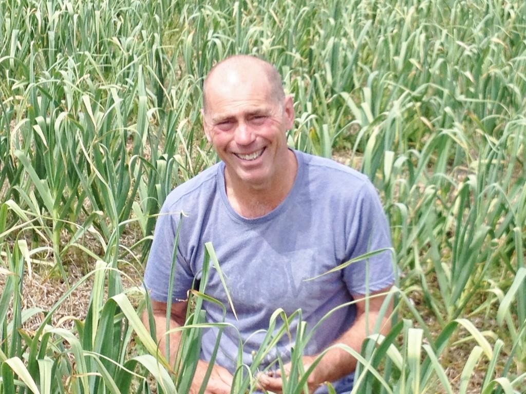 John Olliff Freshwater Creek Garlic